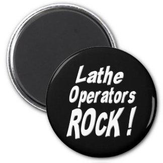 Lathe Operators Rock! Magnet