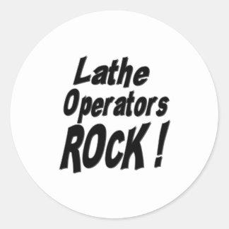 Lathe Operators Rock! Sticker
