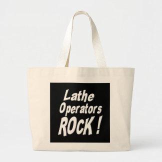 Lathe Operators Rock! Tote Bag