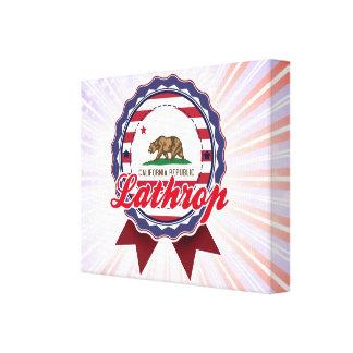 Lathrop, CA Lona Envuelta Para Galerías