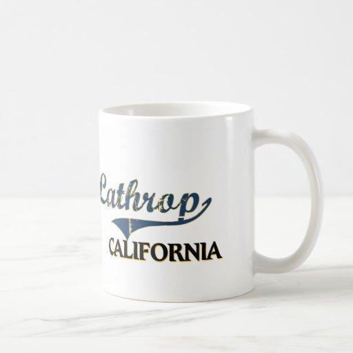 Lathrop California City Classic Classic White Coffee Mug