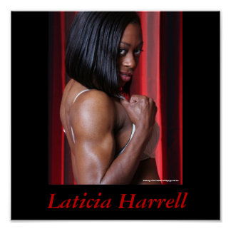 Laticia Harrell- Shoulder Poster