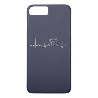 LATIDO DEL CORAZÓN DE LA MÁQUINA DE COSER FUNDA iPhone 7 PLUS