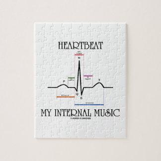 Latido del corazón mi música interna puzzle