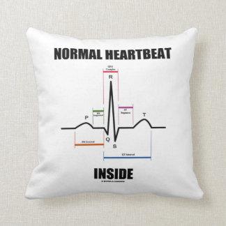 Latido del corazón normal dentro del cojin