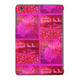 Latido del corazón rosado fundas de iPad mini