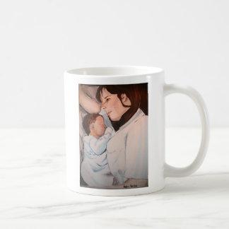 latido del corazón taza de café