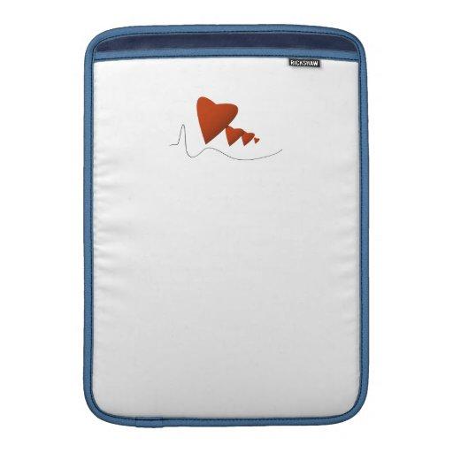Latidos del corazón fundas MacBook
