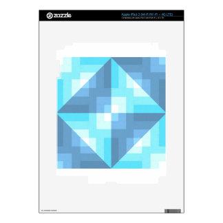 Latigazo de la imagen de la cena de la tela iPad 3 pegatina skin