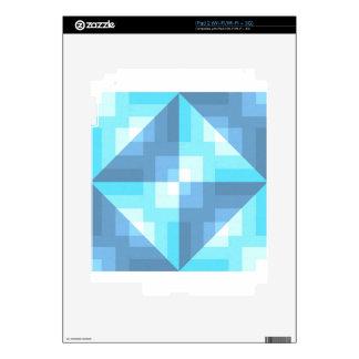 Latigazo de la imagen de la cena de la tela skins para iPad 2