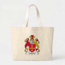Latimer Family Crest Bag