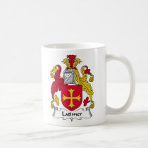 Latimer Family Crest Mug