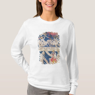 Latin 7253 15 675, f.4v: Job being tested by God T-Shirt