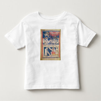 Latin 7253 15 675, f.4v: Job being tested by God Toddler T-shirt
