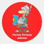 Latín: Adiuvat de Fortuna de los Fortes Etiquetas