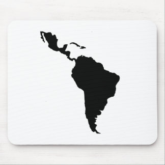 Latin America Mouse Pad