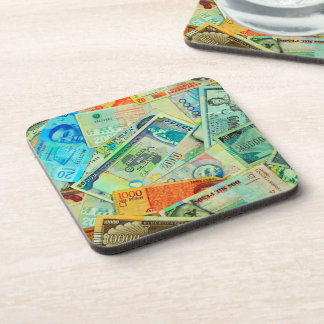 Latin American Currencies Coaster