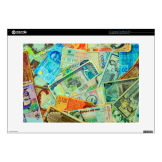 Latin American Currencies Skin For Laptop