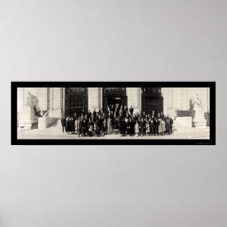 Latin American DC Group Photo 1925 Poster