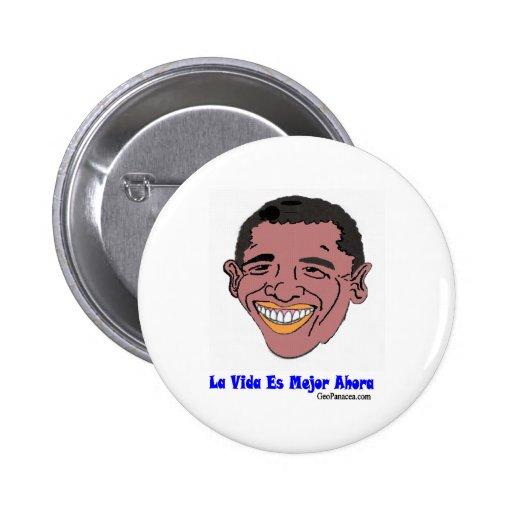 Latin American Life's Better Now Pins