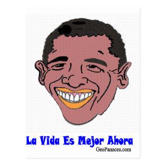 Latin American Life's Better Now Postcard