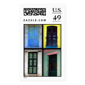 Latin American Windows: Postage