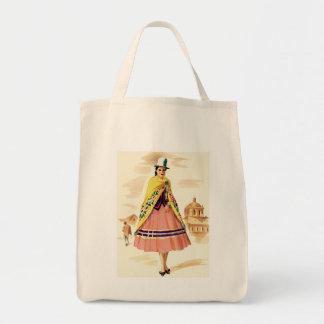 Latin American Woman Tote Bag