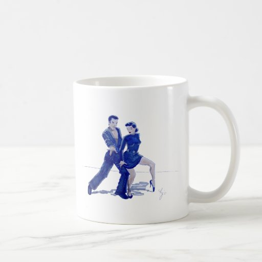 Latin Ballroom Dancing Coffee Mug