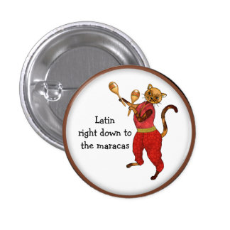 Latin Cat Right Down to the Maracas Button