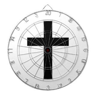 Latin (Christian) Cross Dart Board