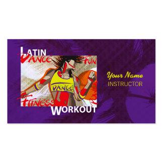 LATIN DANCE WORKOUT - Business Card
