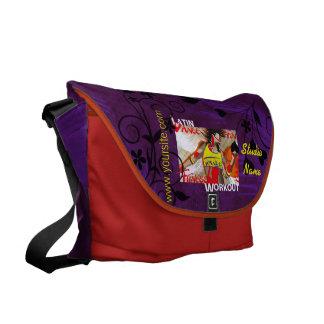 LATIN DANCE WORKOUT - Messenger Bag