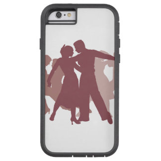 Latin Dancers Illustration Tough Xtreme iPhone 6 Case