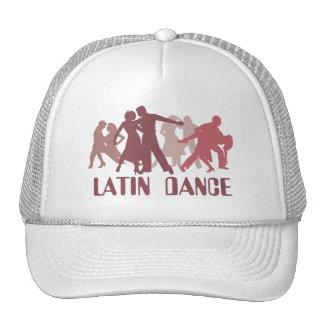 Latin Dancers Illustration Trucker Hat