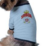 Latín de Serbia Camisetas De Perrito