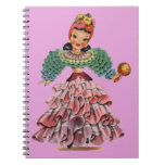 Latin Doll Notebook