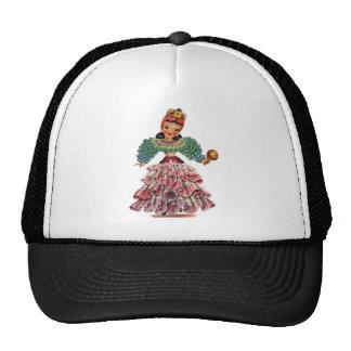 Latin Doll Trucker Hat
