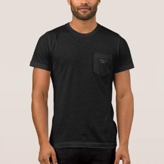 Latin Funny 'Cogito, ergo doleo' Pocket T T-Shirt