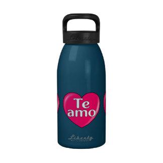 Latin – I love you Water Bottles