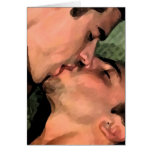 Latin Kiss Greeting Cards
