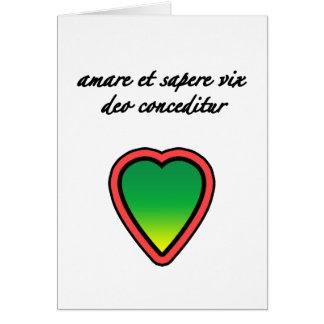 Latin Lover Greeting Card