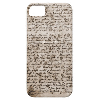 Latin Manuscript iPhone SE/5/5s Case