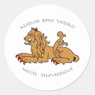 Latin mottos and heraldry stickers