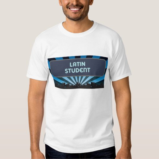 Latin Student Marquee Tee Shirts