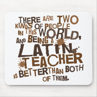 Latin Teacher Gift Mouse Pad