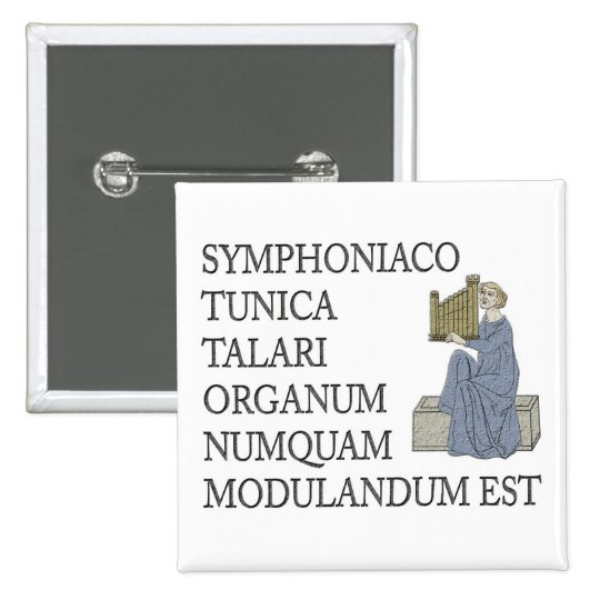 Latin warning to organists button
