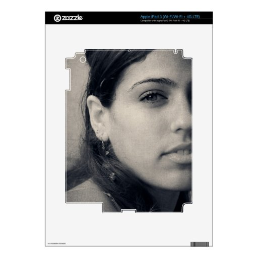 Latina Beauty Decals For iPad 3