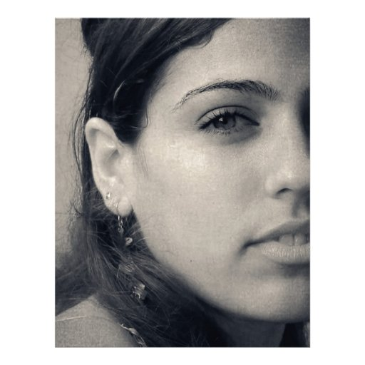 Latina Beauty Personalized Letterhead