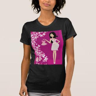 latina pregnant woman t-shirts