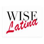 Latina sabia postal